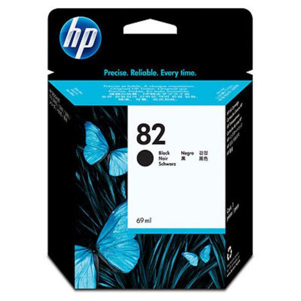 HP Tintenpatrone Nr. 82 Schwarz (Seiten: keine Angabe 69ml)