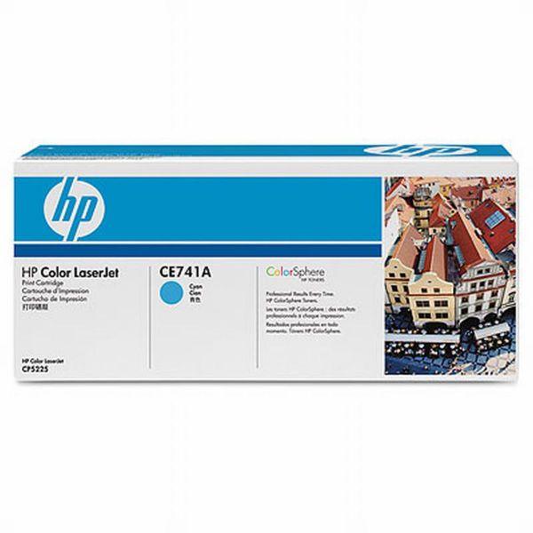 HP Toner 307A CE741A Cyan (ca. 7300 Seiten)