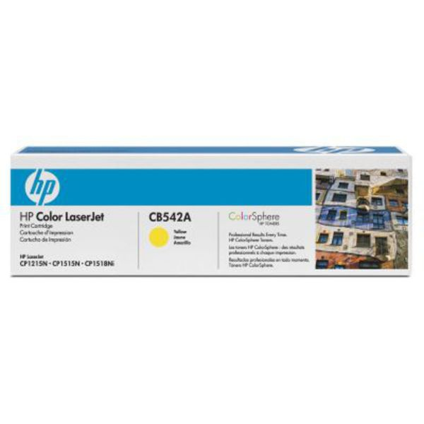 HP Toner CB542A Gelb (ca. 1400 Seiten)