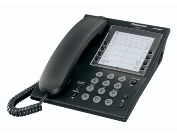 KX-T7710NE-B Analoges Systemendgerät, schwarz
