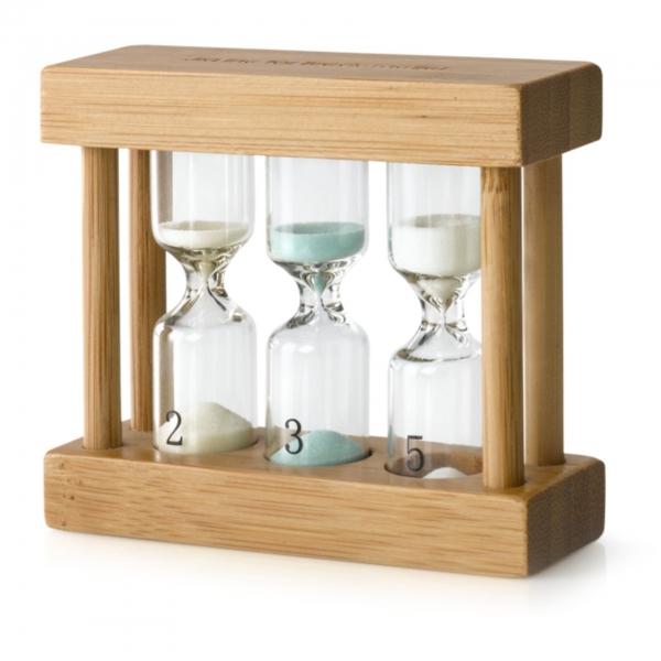 Bredemeijer Teatimer/Sanduhr 3-in 1 Bambus B0006