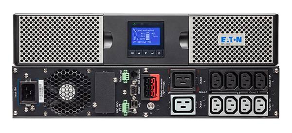 Eaton 9PX2200IRT2U Unterbrechungsfreie Stromversorgung (UPS) Doppelwandler (Online) 2200 VA 2200 W 10 AC-Ausgänge