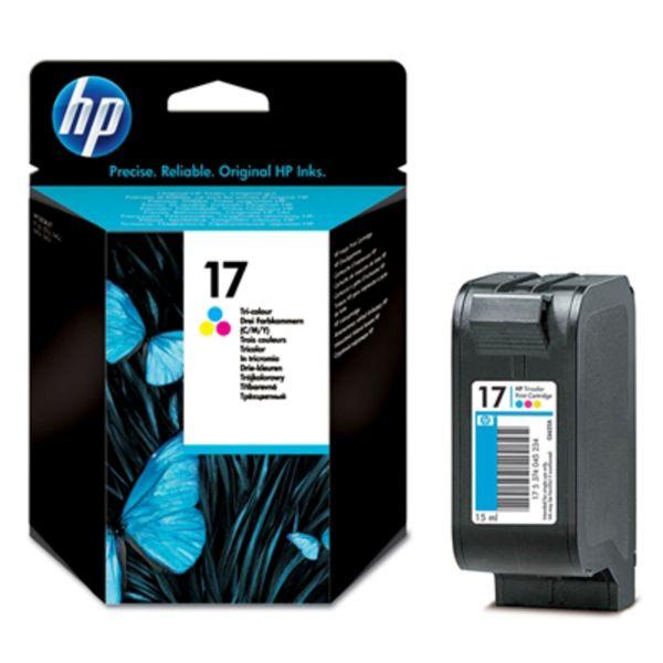 HP Tintenpatrone Nr. 17 C6625AE 3-farbig (ca. 480 Seiten)