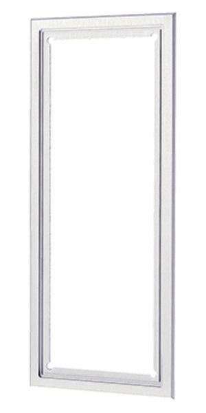 Behnke 20-9000 Abdeckblende für 3-fach Rahmen ALU