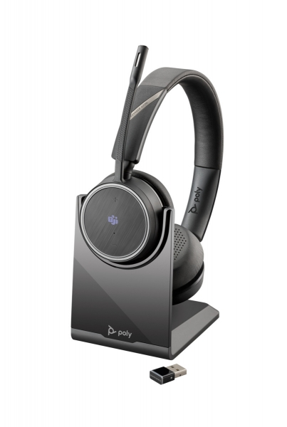 Poly BT Headset Voyager 4220 UC USB-A Teams inkl. LS & BT600