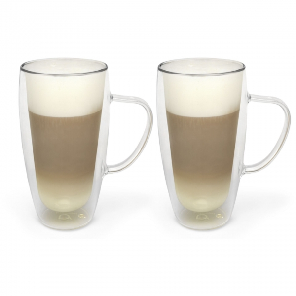 1x2 Bredemeijer Glas 400ml Latte Macchiato doppelwa. 165015