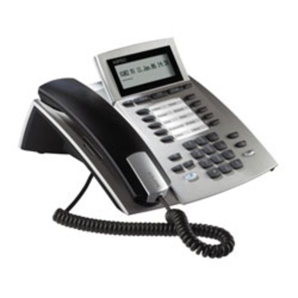 AGFEO Systemtelefon ST22 silber