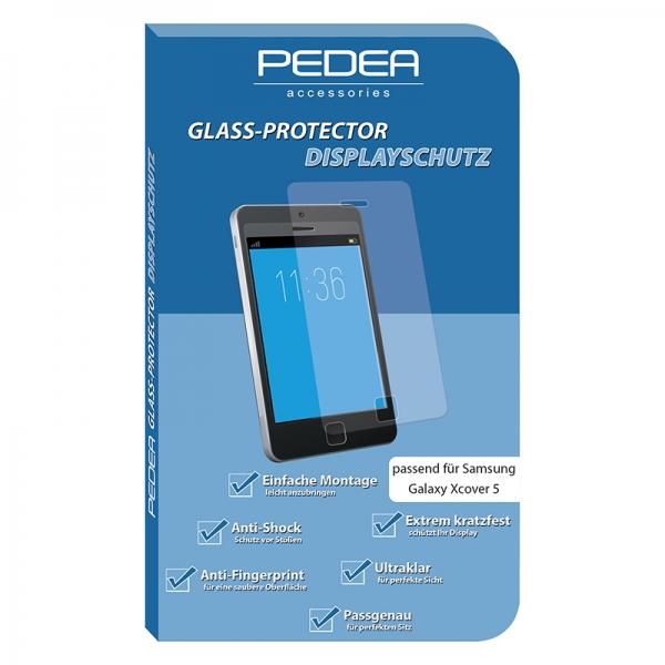 PEDEA Display-Schutzglas Samsung Galaxy Xcover 5