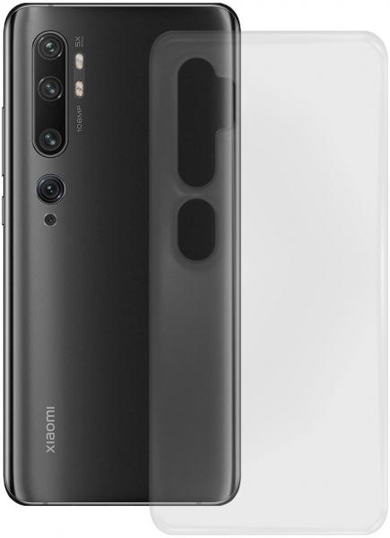 PEDEA Soft TPU Case für Xiaomi Mi Note 10, transparent