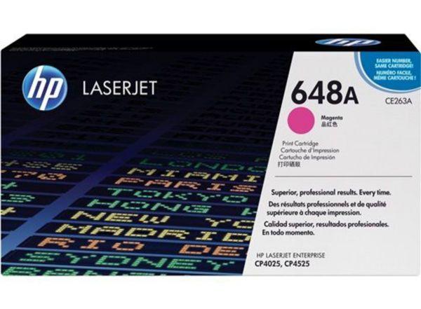 HP Toner 648A CE263A Magenta (ca. 11000 Seiten)