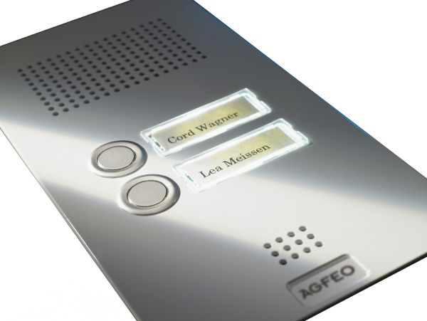 AGFEO Premium TFE 2 weiss - Türsprechstelle