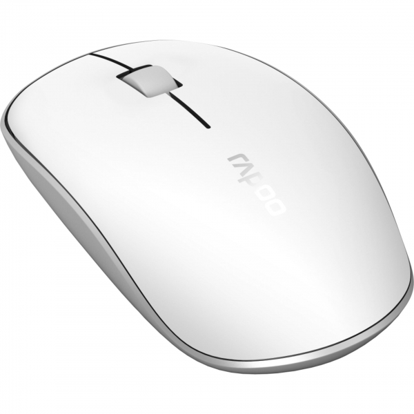 Rapoo M200 Weiß Kabellose Multi-Mode-Maus