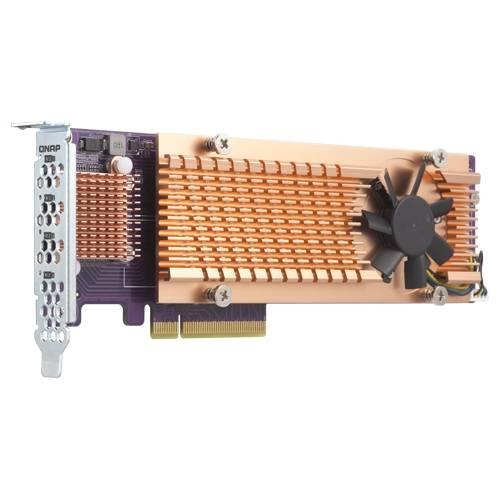 QNAP QM2-4P-384 Schnittstellenkarte/Adapter PCIe Eingebaut