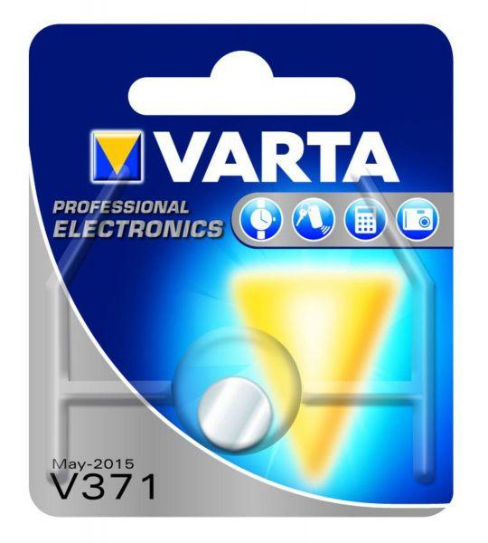 VARTA Knopfzellenbatterie Electronics V371 (SR69) Silber