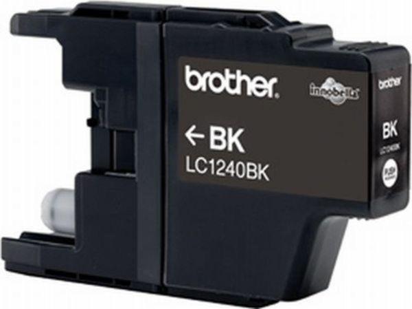 Brother Tintenpatrone LC-1240BK Schwarz (ca. 600 Seiten)